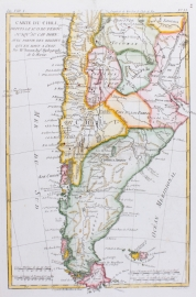 Kaart van Chili