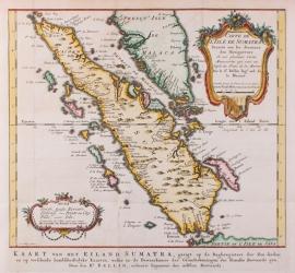 Kaart Sumatra