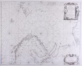 Zeekaart Noordelijke IJszee.