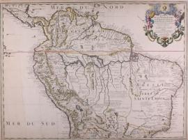 Kaart Zuid Amerika
