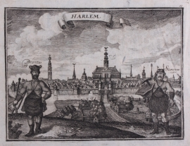 Panorama of Haarlem.