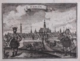 Panorama van Haarlem.