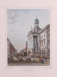 Het stadhuis Rotterdam.