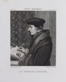 Portrait of Erasmus.