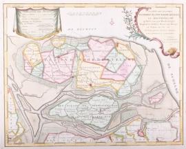 Kaart Noordbeveland.