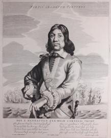 Portret van Cornelis Tromp.