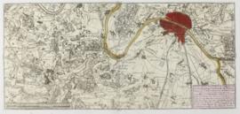 Kaart Parijs en omgeving.