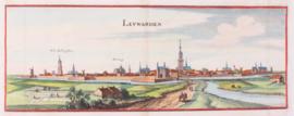 Panorama van Leeuwarden.