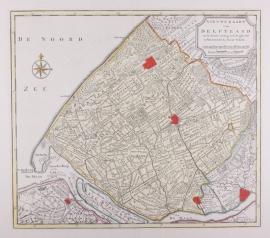 Kaart van Delftland