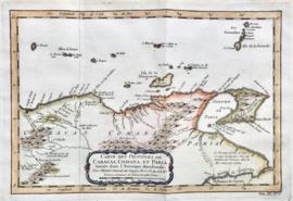 Kaart Venuzuela