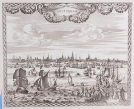 Panorama Amsterdam.