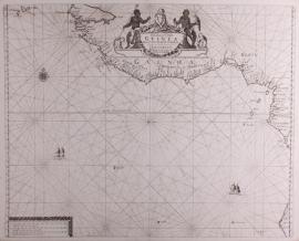 Paskaart Guinea.