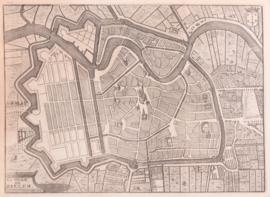 Plattegrond Haarlem.