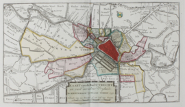 Town plan of Utrecht.