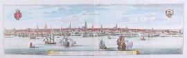 Panorama of Amsterdam.