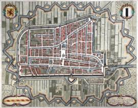 Plattegrond Delft