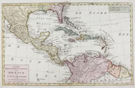 Kaart Caribbean