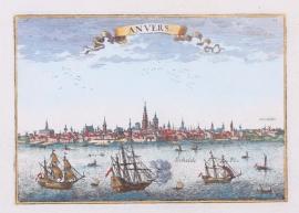 Panorama Antwerpen.