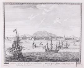 Town view of Batavia.