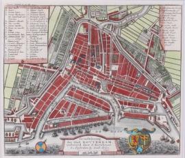 Town plan Rotterdam.