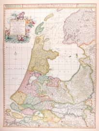 Map of Holland.
