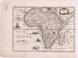 Kaart Afrika.