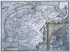 Kaart Friesland