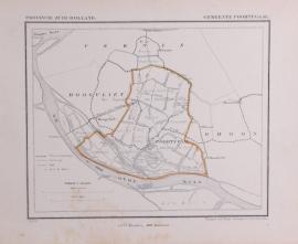 Gemeente kaartje Poortugaal