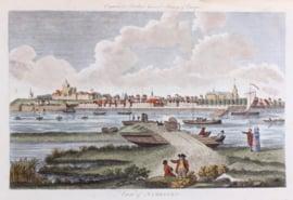 Panorama van Nijmegen.