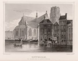 Town view of Rotterdam.
