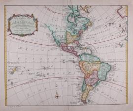 Kaart Amerika