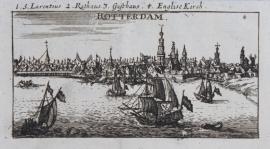 Stadsgezicht Rotterdam.