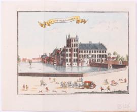 Prent van Den Haag.