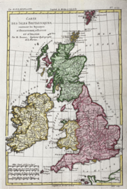 Kaart Engeland.