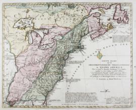 Kaart Noord Amerika