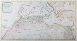 Kaart Middelandse- Zee