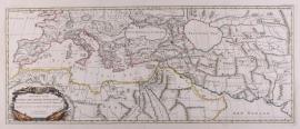 Kaart Middelandse Zee