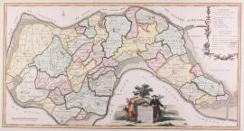 Kaart Zuidbeverland.