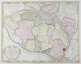Kaart Noord-Beverland