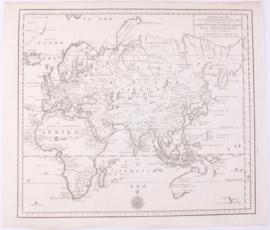 Oosterlijke werelddelen Europa, Azie, Afrika en Australië.
