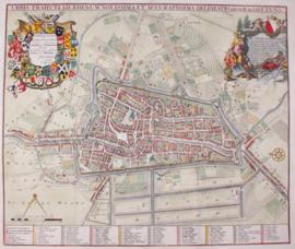 Plattegrond Utrecht.