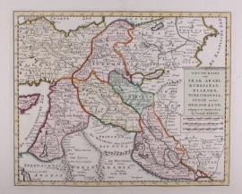 Kaart Perzië