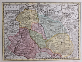 Map of Drente.