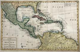 Kaart Caribean