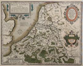 Kaart Holland