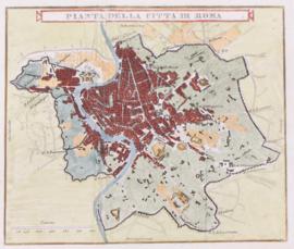 Plattegrond Rome.