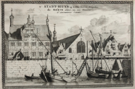 Stadsgezicht Delfshaven.