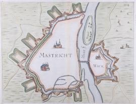 Plattegrond van Maastricht