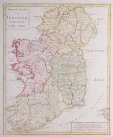 Kaart Ierland