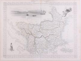 Kaart Europees Turkije.